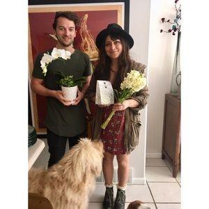 Cute floral Free People mini dress